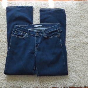 Levi's 529 Curvy Boot Cut Ladies Jeans 12M
